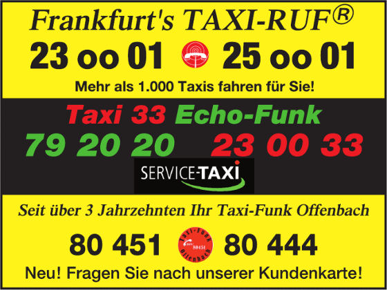 taxi frankfurt eg in frankfurt am main taxibetriebe. Black Bedroom Furniture Sets. Home Design Ideas